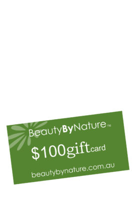 Natural Beauty Products Gift Card $100